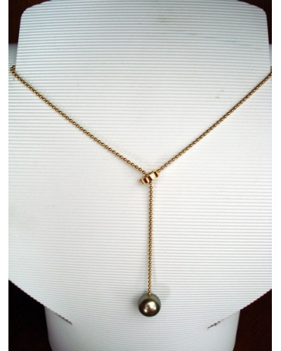 collier perle or jaune