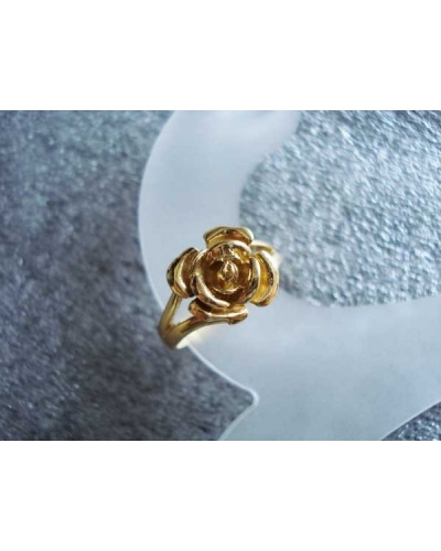 Bague Rose or jaune 750/ººº
