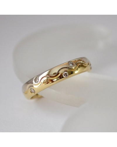 Alliance Vague diamants tour complet 2 ors 750 Orest