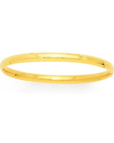Bracelet jonc or jaune 750 9 mm