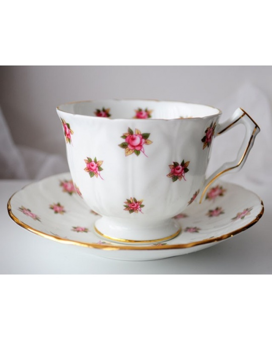 tasse a the rosedale petites roses en porcelaine anglaise aynsley bone china. Black Bedroom Furniture Sets. Home Design Ideas