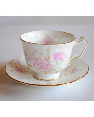 Tasse à thé fleurs pastel Aynsley