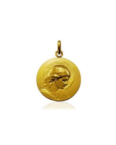 Médaille Jésus adolescent or jaune 750 Arthus-Bertrand