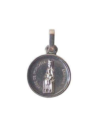Médaille vierge de Meritxell argent massif Arior