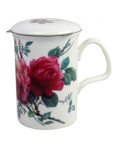 Mug infuseur English Rose Roy Kirkham