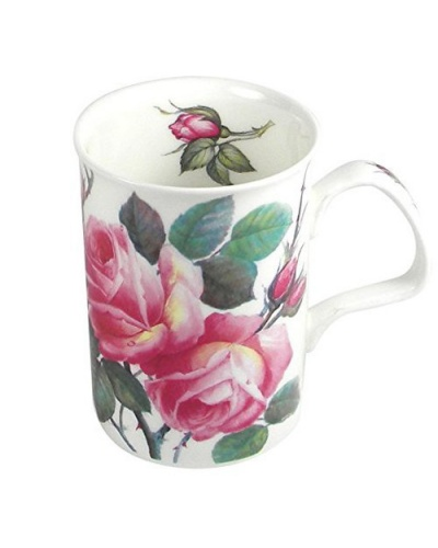 mug english rose roy kirkham tasse caf ou th porcelaine anglaise. Black Bedroom Furniture Sets. Home Design Ideas