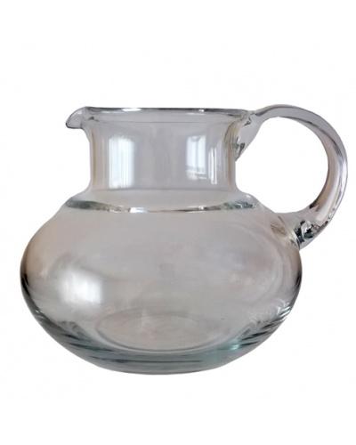 Broc à eau ventru Cristal de Bohême