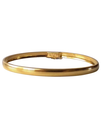 Bracelet Omega or jaune 750 Caplain Saint André