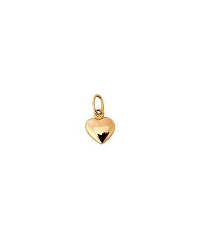 Pendentif coeur mini or jaune 750 Augis