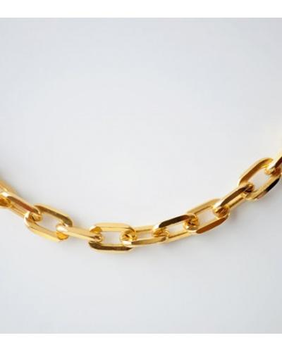 Bracelet forçat or jaune 750 Caplain