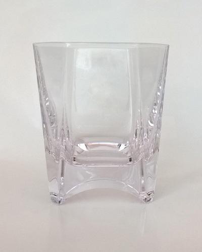 Boite 6 verres à whisky Louvois Cristallerie Royale Champagne