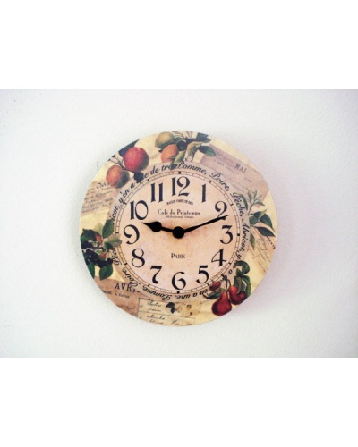 Pendule Roger Lascelles Clocks Fruits